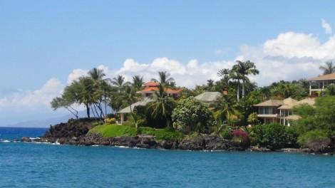Makena oceanfront homes
