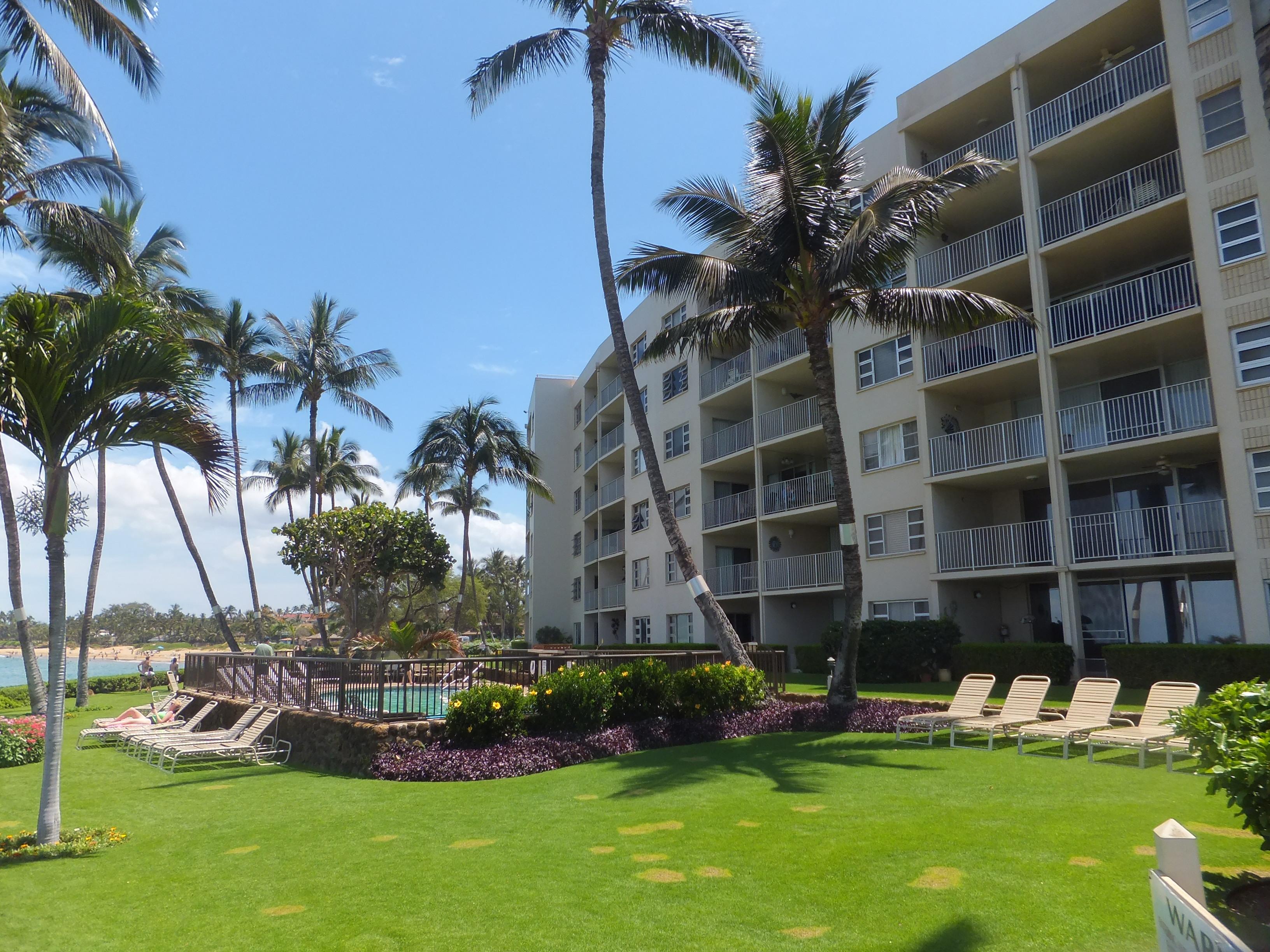 Royal Mauian Condominiums Royal Mauian Kihei Oceanfront