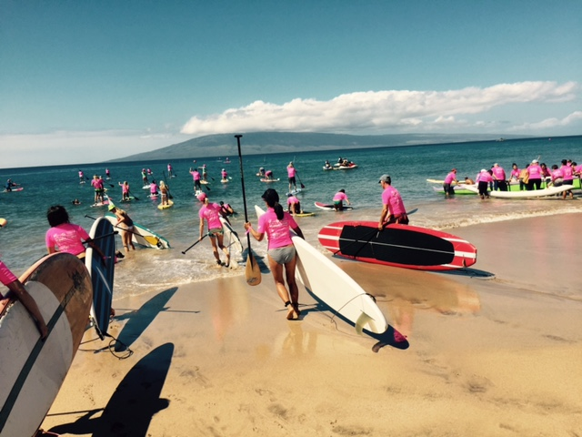 Mai Paddle for a Cure Kaanapali
