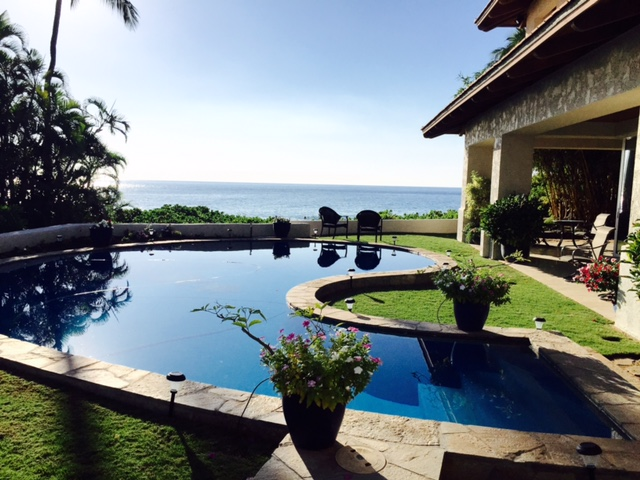 Wailea Oceanfront home Wailea