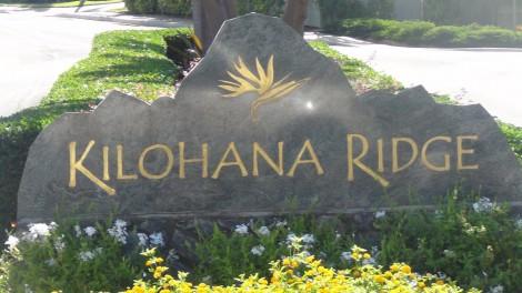 Kilohana Ridge
