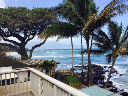 Paia oceanfront home
