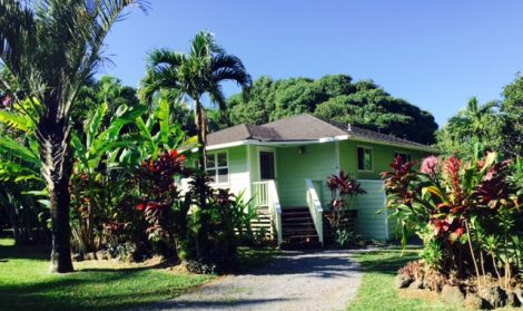 Pineapple cottage vacation rental Maui